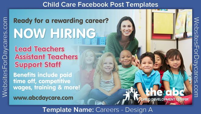 child care facebook marketing